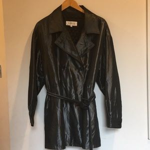 Vert. Womens 3 Button  Jacket  Black Acetate